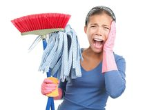cleaning wiosna Zdjęcie Royalty Free