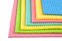 Cleaning wipes royalty free stock images