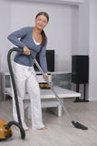 Cleaning woman Royalty Free Stock Images