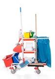 Cleaning wyposażenie fotografia stock