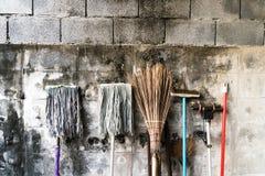Cleaning wyposażenie Obraz Stock