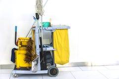 Cleaning wyposażenie Zdjęcia Royalty Free