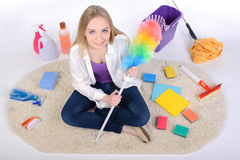 Cleaning Royalty Free Stock Photos