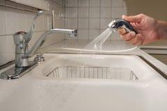 cleaningdiskho Royaltyfri Bild