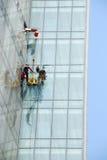 cleaningdubai fönster Fotografering för Bildbyråer