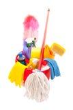cleaninghjälpmedel Arkivbild