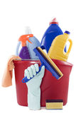 cleaningprodukter Royaltyfria Foton