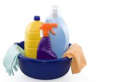 cleaningprodukter Royaltyfri Bild