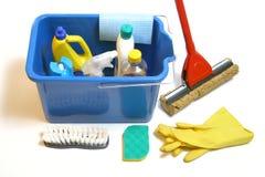 cleaningprodukter arkivfoton