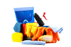 cleaningservice Royaltyfria Bilder