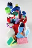 cleaningtillförsel Arkivfoto