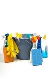 cleaningtillförsel royaltyfria foton