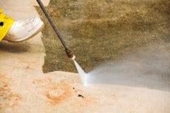 cleaningtryck Fotografering för Bildbyråer