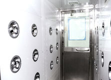 Cleanroom industriel images libres de droits