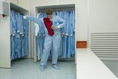 cleanroom odzież Obrazy Stock