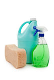 Cleanser Bottle Stock Image
