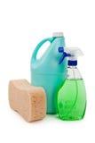 Cleanser Bottle. S close up shot Stock Image