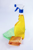 Cleanser, napkin Stock Image