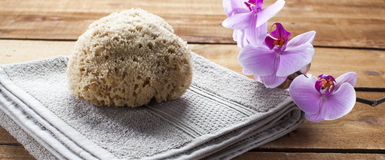 Cleansing and skin purity at the sauna or hammam Stock Photo
