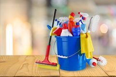 Cleanup. Cleaner household housework product clean plastic royalty free stock photography