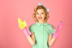 Cleanup, cleaning services, wife, gender. Cleanup, cleaning services, wife, gender cleanup and purity woman stock image
