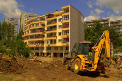 Cleanup after flooding Varna Bulgaria June 19 Royalty Free Stock Photo