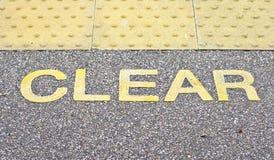 clear lizenzfreies stockbild