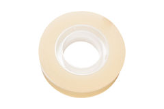Clear Adhesive Tape Texture Isolate On White Background ...