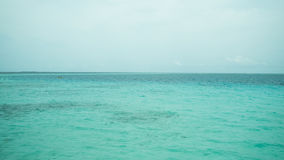 Clear aqua ocean Stock Photo