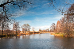 Clear autumn weather Stock Images