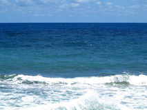 Clear azure sea near Crete coast, Greece Royalty Free Stock Image