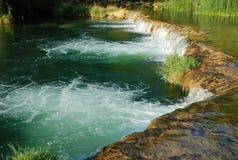 Clear Beautiful Waterfall Stock Photo