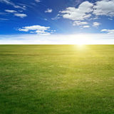 Clear beauty landscape Royalty Free Stock Image