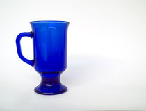Clear Blue Cup Royalty Free Stock Photo