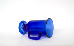 Clear Blue Cup Royalty Free Stock Images