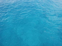Clear Blue Ocean Water Royalty Free Stock Photos