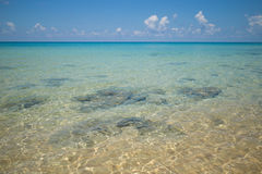 Clear, Blue Ocean Water Stock Photo