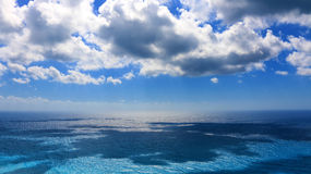 Clear blue sea Royalty Free Stock Images