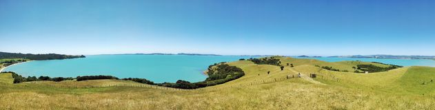Clear blue sea . Reserve park. Clear day Stock Images