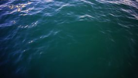 Clear blue sea, water seascape abstract background. Stock. Sea water on a Sunny day background.  Royalty Free Stock Photo