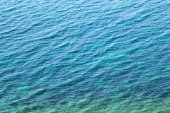 The texture of the water. Stock Images