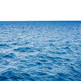 Clear blue sea and white Stock Photos