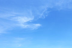 Clear blue sky Royalty Free Stock Photography