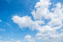 Clear blue sky background,clouds with background stock photos