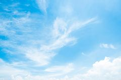 Clear blue sky background,clouds with background stock photography