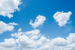 Clear blue sky background,clouds with background royalty free stock photos