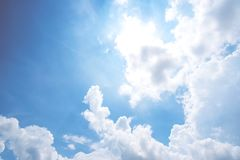 Clear blue sky background,clouds with background stock image