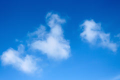 Clear Blue sky Stock Photography