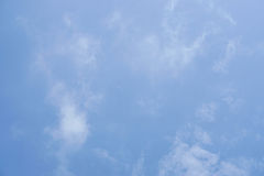 Clear blue sky in daylight Royalty Free Stock Photography