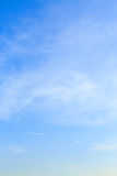 Clear blue sky Royalty Free Stock Photos